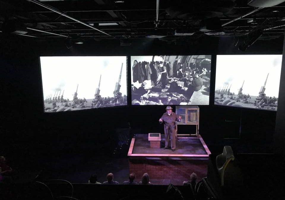 Debut Performance of 'Churchill: The Blitz' a Success!